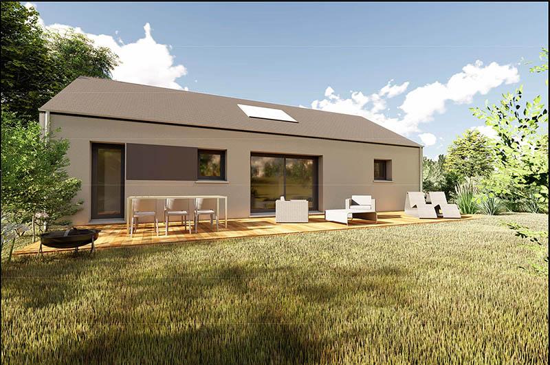 Horizon2, maison traditionnelle