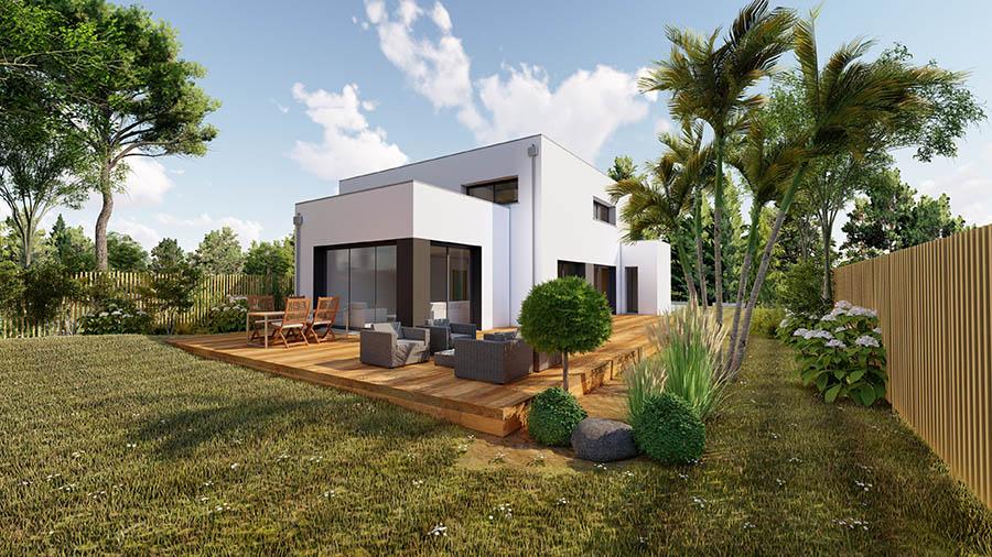 Maison moderne à Bruz