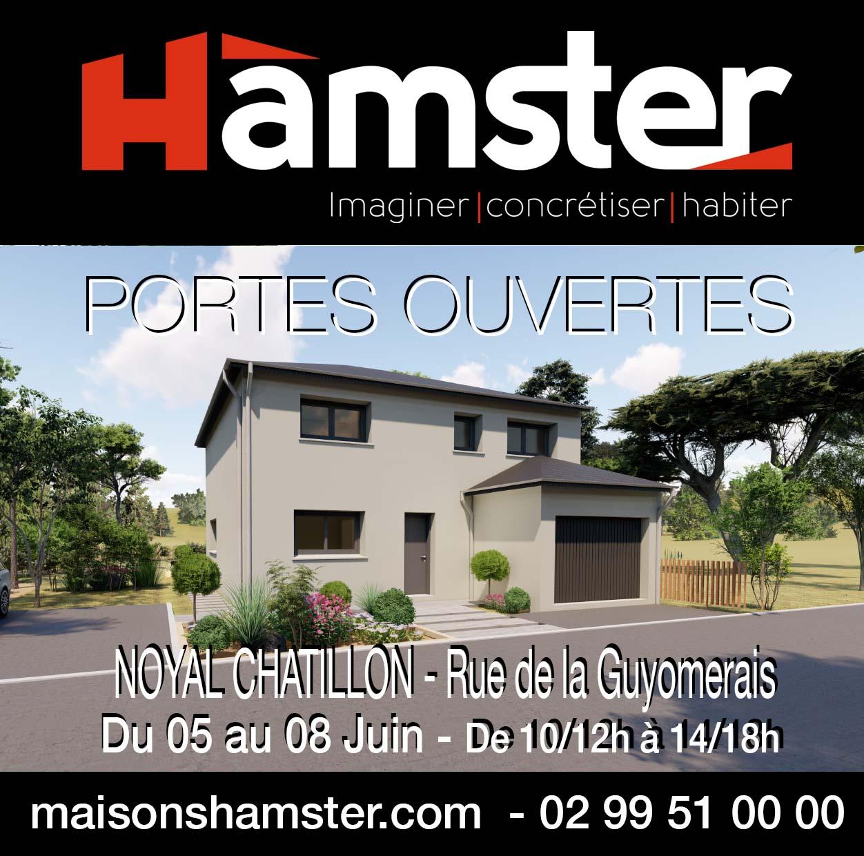 Portes Ouvertes du 05 au 08 Juin 2020 – Noyal Chatillon sur Seiche