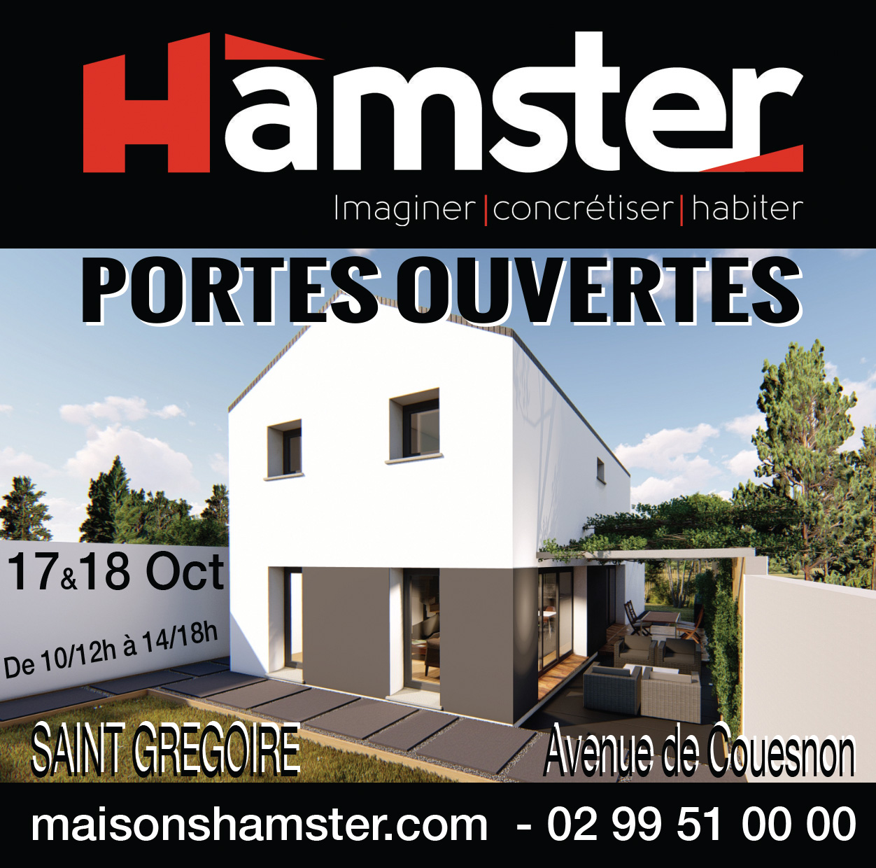 Portes Ouvertes à Saint Grégoire les 17 & 18 Octobre 2020.