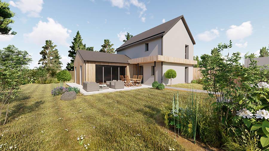 Maison 3 chambres à Noyal sur Vilaine