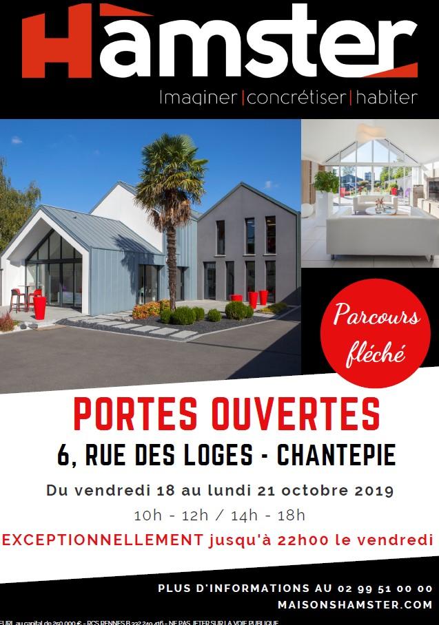 PORTES OUVERTES MAISONS HAMSTER DU 18 AU 21 OCTOBRE 2019